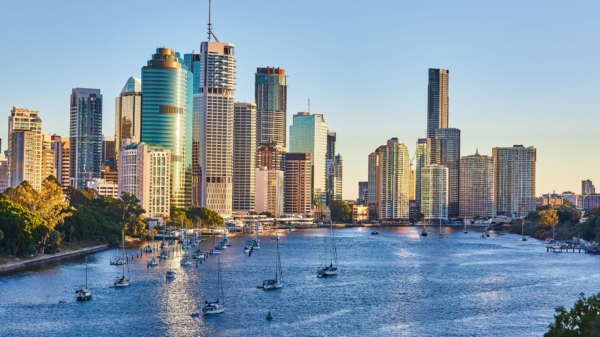 Brisbane, Australia, one of least polluted cities in the world
