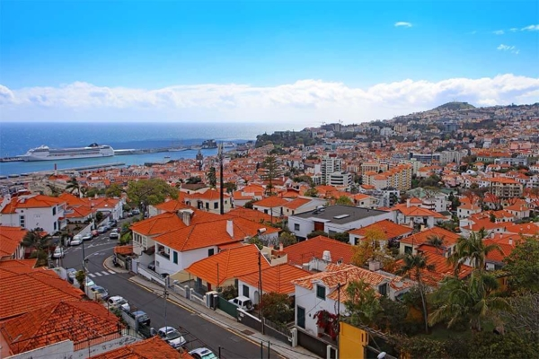 Funchal, Portugal, one of least polluted cities in the world