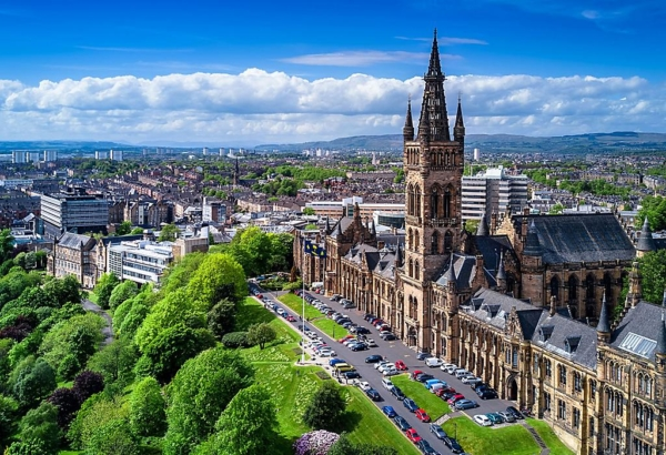 Glasgow, Scotland, one of least polluted cities in the world