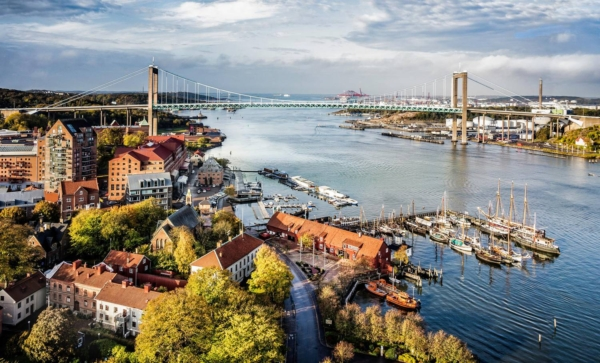 Gothenburg, Sweden, one of least polluted cities in the world