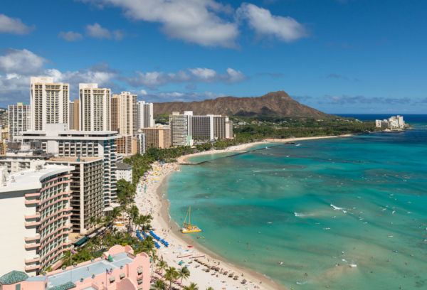Honolulu, US, one of least polluted cities in the world