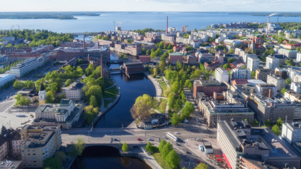 Tampere, Finland, one of least polluted cities in the world