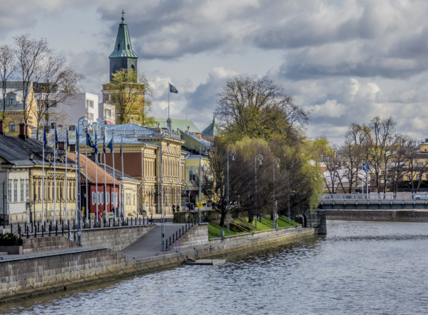 Turku, Finland, one of least polluted cities in the world