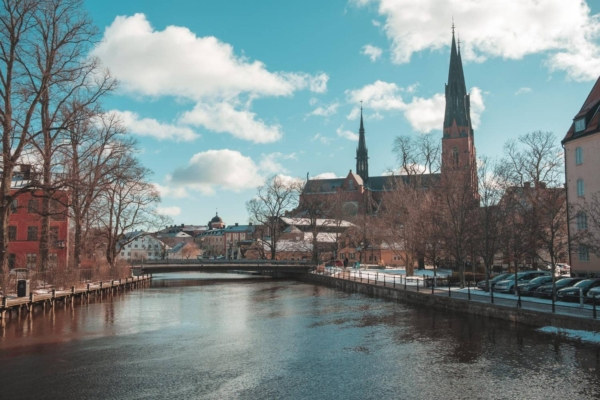 Upsala, Sweden, one of least polluted cities in the world