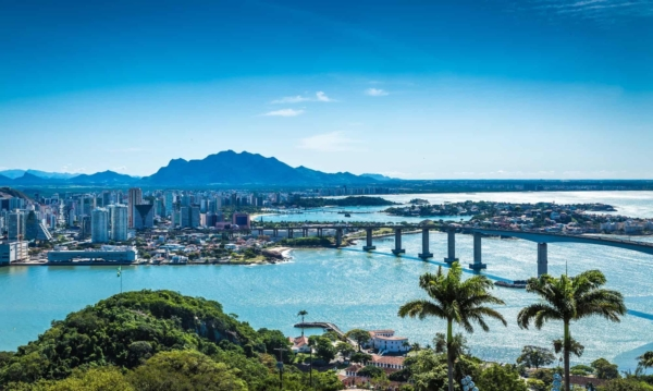 Vitoria, Brazil, one of least polluted cities in the world