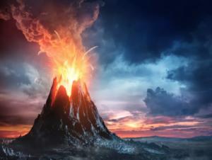火山爆发时产生CO2可能让人死亡
