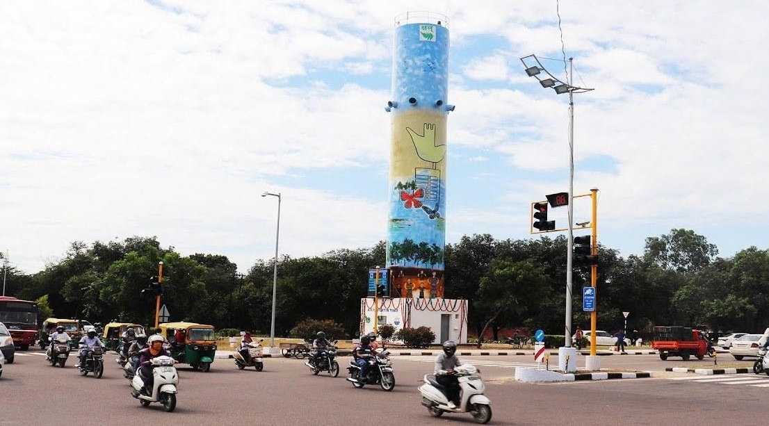 Chandigarh's Smog Tower