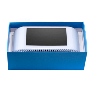 AirVisual Pro Air Pollution Monitor in the packing box