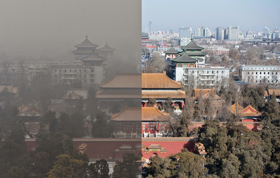 Air Pollution study abroad in China