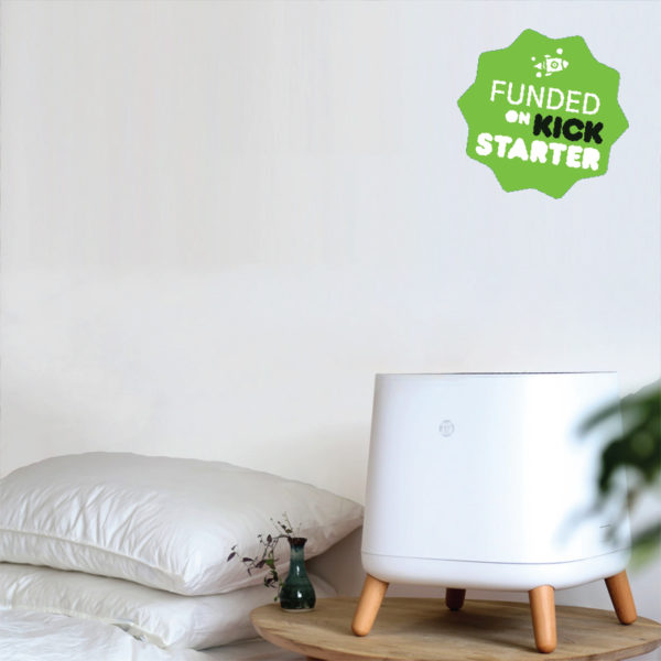 Sqair Air Purifier funded on Kickstarter