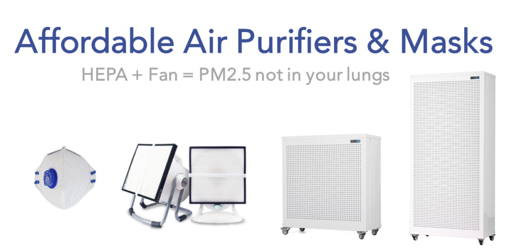 Smart Air air purifiers and masks in India