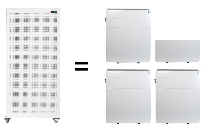Blast air purifier outperforms Blueair