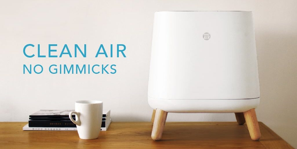 The Sqair air purifier - world's most cost-effective smart air purifier